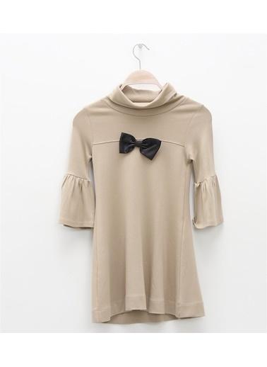Asymmetry Elbise Bej